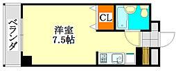 ソレイユM津田沼[1階]の間取り