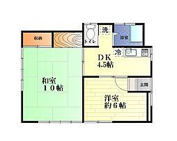 [一戸建] 神奈川県横須賀市汐入町4丁目 の賃貸【/】の間取り