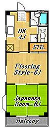 プルミエールマンション[5階]の間取り