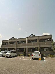 埼玉県日高市原宿の賃貸マンションの外観