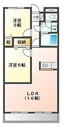 神奈川県川崎市多摩区堰3丁目の賃貸マンションの間取り