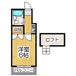 山科第3[2階]の間取り