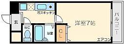 ロッソデステ[1階]の間取り