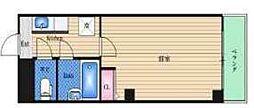 イモーション姫島[402号室]の間取り