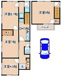 [一戸建] 兵庫県明石市林崎町3丁目 の賃貸【/】の間取り