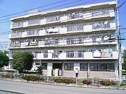 茨城県つくば市花畑2丁目の賃貸マンションの外観