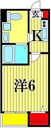 La Verita 松戸[2階]の間取り