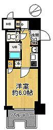 マンション(恵美須町駅から徒歩6分、1K、1,300万円)