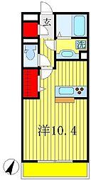 プラム リリア[1階]の間取り