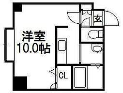K・s Stage Asahimachi[905号室]の間取り