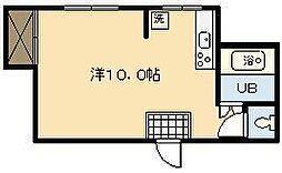 元宮マンション[305号室]の間取り