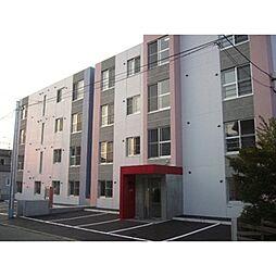 北海道札幌市北区北三十二条西11丁目の賃貸マンションの外観