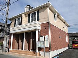 静岡県浜松市中区東伊場2丁目の賃貸アパートの外観
