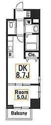 新築 スカイハウスグランデ[10階]の間取り