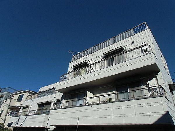 神奈川県川崎市幸区戸手3丁目の賃貸マンションの外観