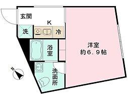 the KOISHIKAWA 〜ザ コイシカワ〜 5階1Kの間取り