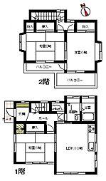 [一戸建] 埼玉県加須市志多見 の賃貸【/】の間取り