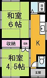 [一戸建] 茨城県つくば市栄 の賃貸【茨城県 / つくば市】の間取り