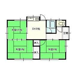 酒井住宅[1階]の間取り