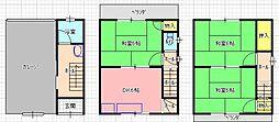 [一戸建] 大阪府東大阪市岩田町5丁目 の賃貸【/】の間取り