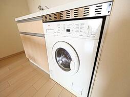 ドゥーエ大須のドラム式洗濯機
