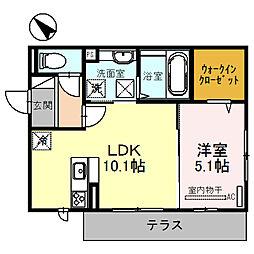 SS[1階]の間取り