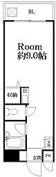 マンション葵[205号室号室]の間取り