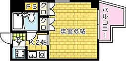 第11片山ビル[701号室]の間取り