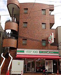 博栄ビル[4階]の外観