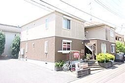 茨城県つくば市島名の賃貸アパートの外観