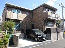 兵庫県尼崎市東園田町7丁目の賃貸アパートの外観
