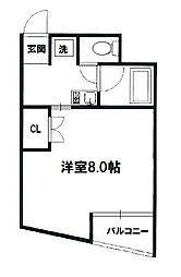 アベニュー千里[2階]の間取り