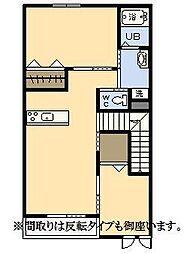(新築)エムグレイスR[203号室]の間取り
