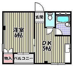 シャトレSI大阪狭山[3階]の間取り