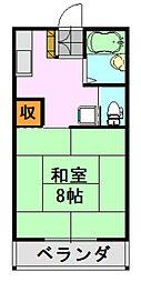 青葉ハイツ2[208号室]の間取り