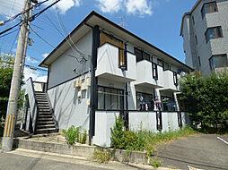 大阪府茨木市沢良宜西1丁目の賃貸アパートの外観