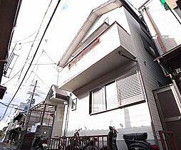 京都府京都市左京区夷川通川端東入2筋目上る大文字町の賃貸アパートの外観