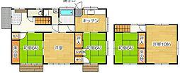 [一戸建] 福岡県太宰府市連歌屋3丁目 の賃貸【/】の間取り