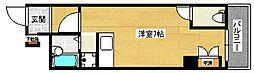 広島県広島市南区皆実町3丁目の賃貸マンションの間取り