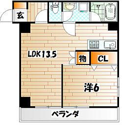 麻布ビル[5階]の間取り