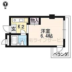 city virr戸田[403号室]の間取り