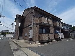 兵庫県姫路市飾磨区中野田4丁目の賃貸アパートの外観