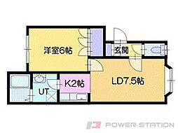 パークマンションVII[1階]の間取り