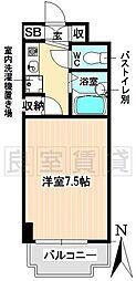 愛知県名古屋市千種区吹上2丁目の賃貸マンションの間取り