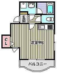 BBビル[3階]の間取り