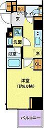 東京都港区海岸3丁目の賃貸マンションの間取り