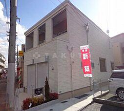 大阪府大阪市東淀川区井高野1丁目の賃貸アパートの外観