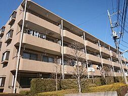 東京都調布市東つつじケ丘3の賃貸マンションの外観