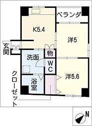 WILL[3階]の間取り