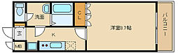ルミナス松山[1階]の間取り